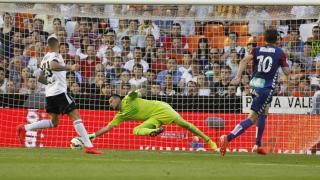 Diego Alves fue el amo y señor de la portería del Valencia