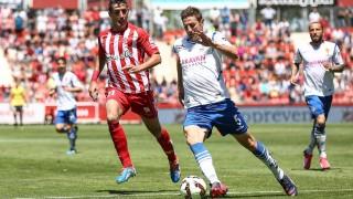 El Zaragoza eliminó al Girona en la primera ronda del play-off de ascenso