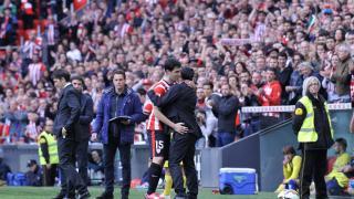 Andoni Iraola se despidió del Athletic marcando un gol