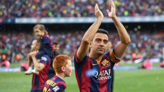 """""""Os doy las gracias de todo corazon"""", dijo Xavi en su despedida"""