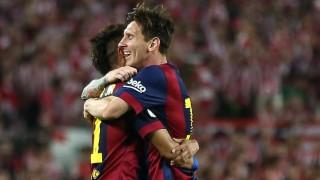 Messi y Neymar fueron los protagonistas del encuentro con dos goles