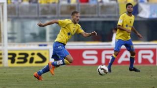 Javi Castellano ha sido el futbolista con más minutos y que más pases ha realizado de Las Palmas
