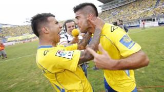 Jonathan Viera, que llegó en enero a Las Palmas, ha sido uno de los pilares del equipo