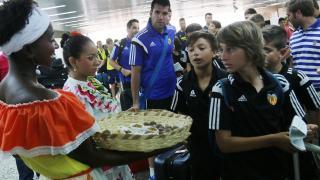 Los jugadores del torneo LaLiga Promises ya están en Barranquilla