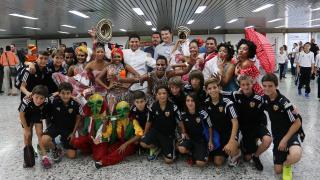 II Torneo Internacional Liga Promises Barranquilla, Colombia - Llegada equipos.
