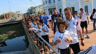 Jugadores y cuerpo técnico conocieron el Malecón de Barranquilla