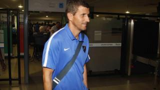 El entrenador del Málaga, Javi Gracia.