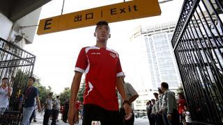Dudú, jugador del Rayo, fue uno de los más aclamados a su llegada
