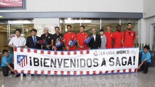 LFP World Challenge Julio-Agosto 2015 - Atlético - Japón - Llegada.