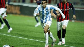 Ricardo Horta se mostró muy participativo y acarició el gol en la primera mitad