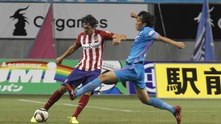 Savić, uno de los fichajes del Atlético de Madrid, en acción.