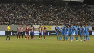 Tensión antes de la tanda de penaltis.