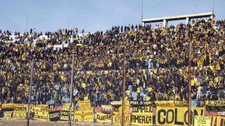 La afición de Peñarol no quiso perderse el duelo ante el Málaga