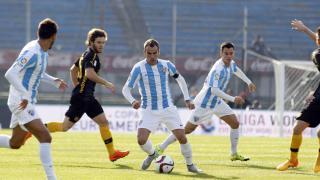 Duda marcó el 1-2 para el Málaga con un sensacional lanzamiento de falta