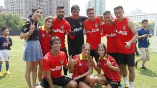 Shanghai acogió con gran ilusión la estancia del equipo español
