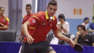 Álvaro Robles, campeón de España en dobles
