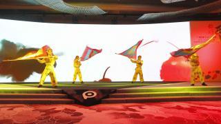 La presentación contó con varias actuaciones musicales.