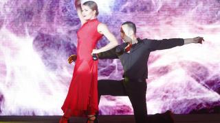 La presentación fue acompañada de un gran espectáculo musical y visual.