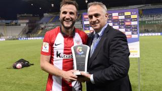 Gurpegi recibió el premio al mejor jugador del partido