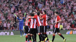 Así fue la celebración del 1-0 para el Athletic
