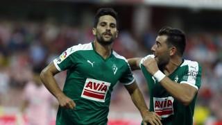 Adrián anotó en sus dos primeros choques de Liga BBVA con el Eibar