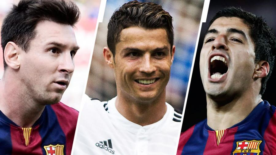 Messi Cristiano And Luis Suarez Nominees For The Uefa Best Player In Europe Award Laliga
