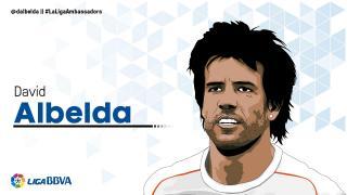David Albelda: 17 temporadas en LaLiga
