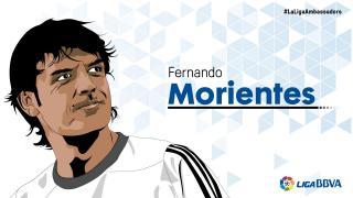 Fernando Morientes: 12 temporadas en LaLiga