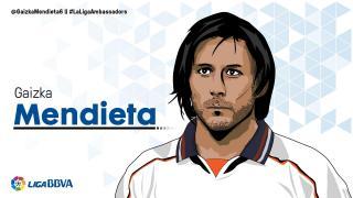 Gaizka Mendieta: 10 temporadas en LaLiga