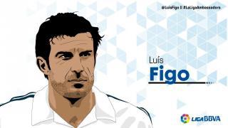 Luís Figo: 10 temporadas en LaLiga