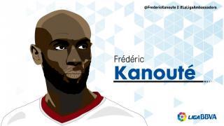 Frédéric Kanouté: 7 temporadas en LaLiga