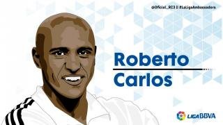 Roberto Carlos: 11 temporadas en LaLiga