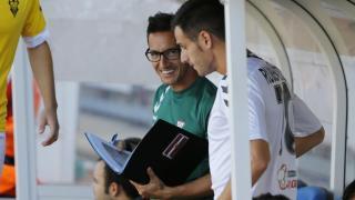 Juan Carlos, segundo del Albacete, también da órdenes a los jugadores