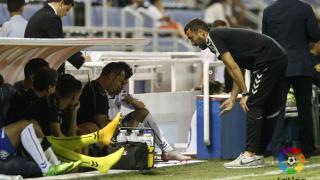 Fabián Rivero acompaña a Raúl Agné en el banquillo del Tenerife