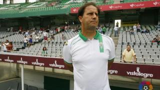 Chema Sanz, segundo técnico del Córdoba CF