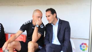 Nano Rivas acompaña a Vicente Moreno en la tarea de comandar al Nàstic