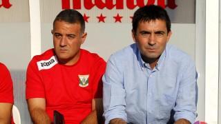 Jaime Pérez no se separa de Asier Garitano en el Leganés