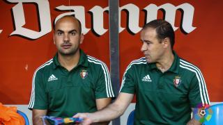 Javier Ramos dirige a Osasuna junto a Enrique Martín Monreal