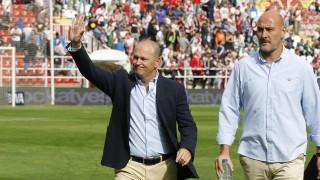 Roberto Ríos, junto a Pepe Mel