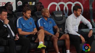 Marcelo 'Gato' Romero entrena al Málaga tras su etapa como jugador en el equipo andaluz