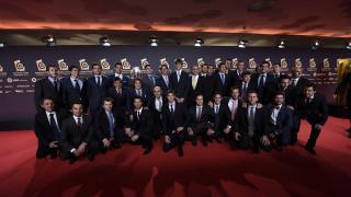 Los jugadores del conjunto español de hockey se lo pasaron en grande.