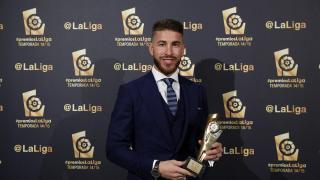 Sergio Ramos (Real Madrid), 'Mejor Defensa de la Liga BBVA 2014/15'