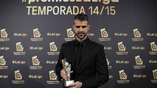 Iván Cuéllar (R. Sporting), 'Mejor Portero de la Liga Adelante 2014/15'
