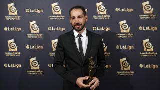 Pablo Machín (Girona FC), 'Mejor Entrenador de la Liga Adelante 2014/15'