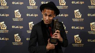 Neymar (FC Barcelona) se hizo con el premio al 'Mejor Jugador Americano' de la temporada pasada