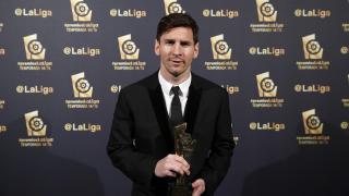 Lionel Messi (FC Barcelona), 'Mejor Delantero de la Liga BBVA 2014/15'