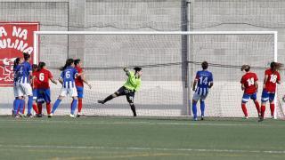 Collerense - Sporting Huelva. Primera División Femenina.