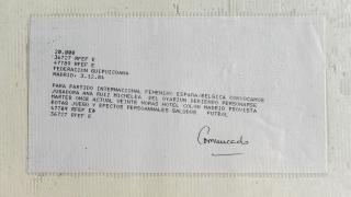 Primera convocatoria de Ana Ruiz con la selección española.