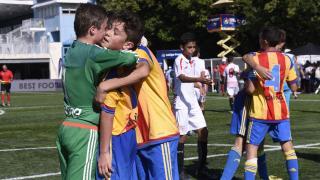 XX Torneo internacional LaLiga Promises Miami - Tercera jornada de competición. VALENCIA SEVILLA SEMIS