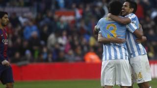Febrero: El Málaga da la campanada en el Camp Nou, gana allí 16 años después.